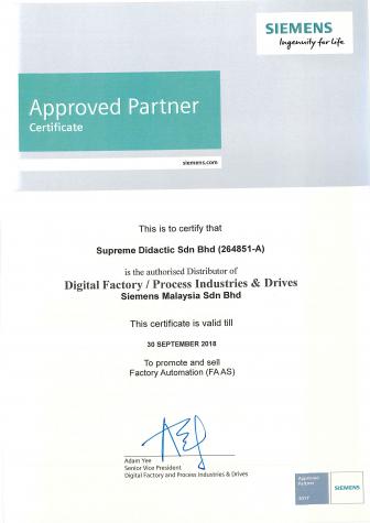 siemens-certificate